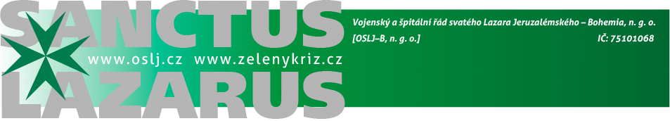 Sanctus Lazarus: Zelený kříž.cz